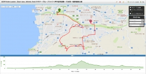 SGR Rollercoaster, Otani dam, Athletic field サタデーグループライド 伊予農免道路ー大谷池ー砥部運動公園