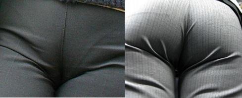 2016.11.16パンツスーツのフロントとバック