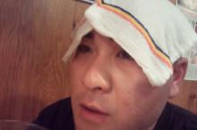 散らかった俺の部屋とHair -TRASHMINDポカリスのblog--酔っ払いカックンのアップ