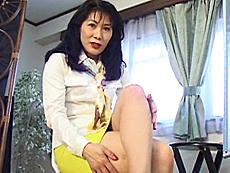 【無修正】安藤貴子 チ●ポ大好き女社長48歳!