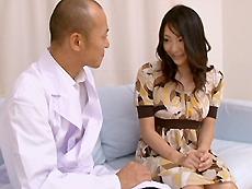 【無修正】若林美保 不感症患者のHな治療