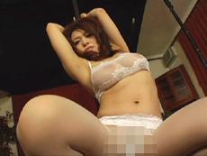 【無修正】着エロ美熟女 中森玲子 第1話
