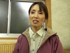 ダイスキ!人妻熟女動画 :モンペが似合う田舎の五十路熟女が東京から来た男優にチ◯ポをねだるw 隅田涼子