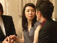 ダイスキ!人妻熟女動画 :49歳のスレンダー貧乳未亡人が出張ホストの凄テクにハマる!! 草間美咲