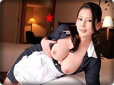 無料AVちゃんねる :【無修正・北島玲】【中出し】宿泊客のチ●ポを誘う欲情しちゃった熟女客室係