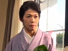 キレイな人妻熟女動画 :四十路のキレイな生け花先生が師匠にお仕置きされる! 松島香織