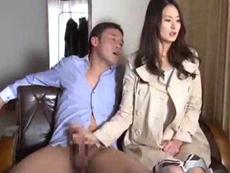 人妻会館 :【竹内紗里奈】 やっぱり欲しいんだろ!ケツを捲って入れてみなよ!
