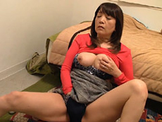熟女ストレート :五十路を過ぎた義母の悶え姿に欲情した息子が無許可にハメて中出し! 宮前幸恵