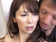 ダイスキ!人妻熟女動画 :盆暮れしか抱いてもらえない四十路の巨乳熟女がAV出演で思う存分セックス! 翔田千里