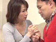 人妻会館 :【牧原れい子】 亡くなった主人にそっくりです!触っても好いですか!