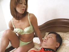 裏・桃太郎の弟子 :【無修正】唐沢昭子 性欲の強い貧乳スレンダー四十路