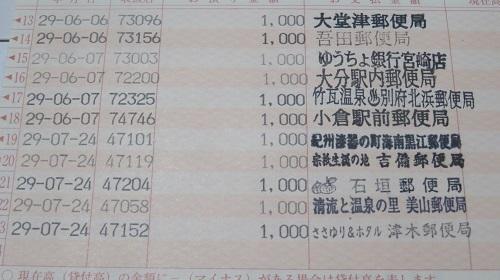 2017 7 24 郵便局巡り