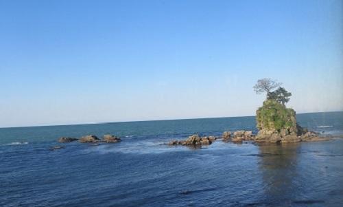 2017 4 23 北陸の旅 雨晴海岸