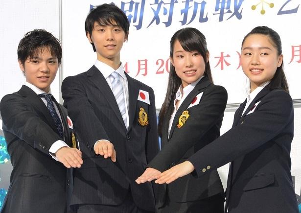 国別対抗戦 日本選手