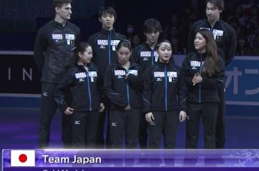 ゴールドメダル、チームジャパン