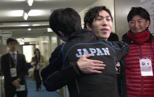 NHK杯ハグシリーズ (1)