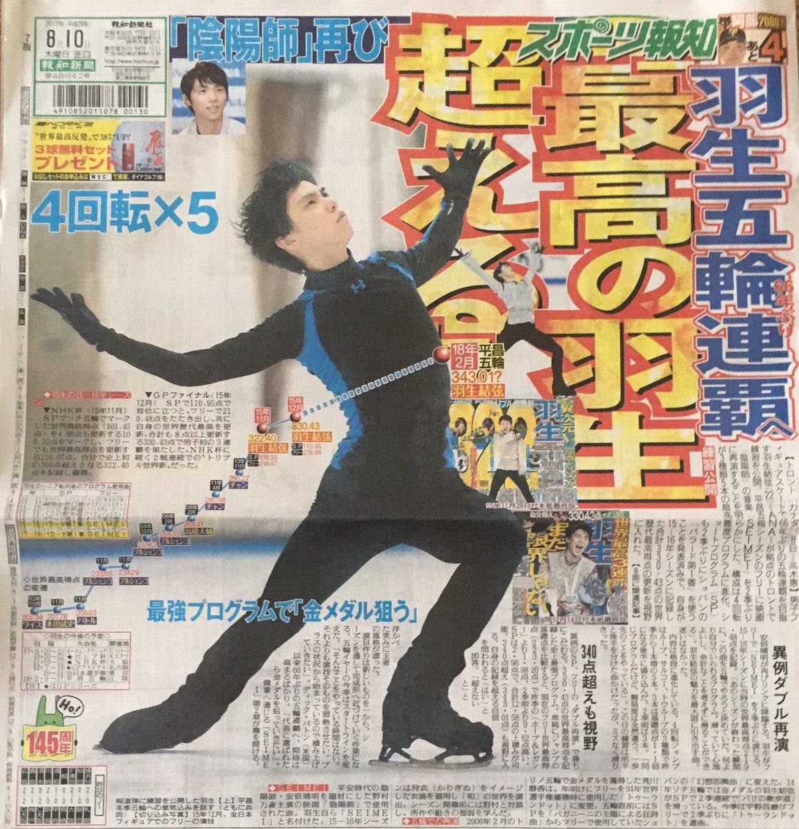 新聞0810スポーツ報知