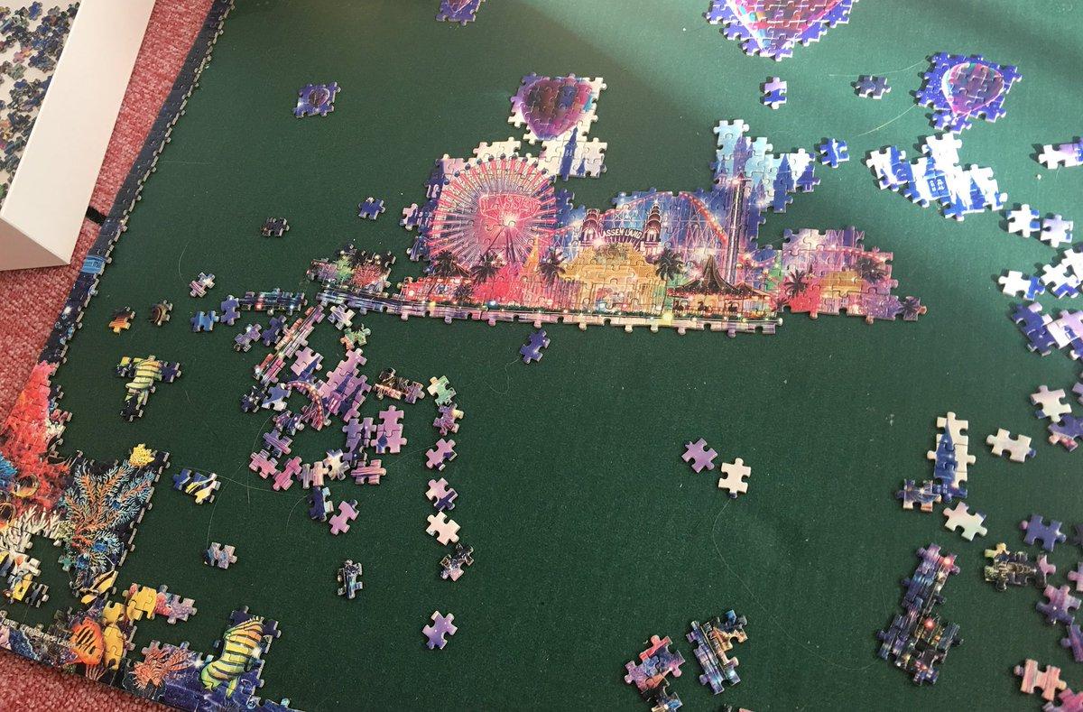 9月8日 遊園地部分が完成する