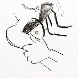 下手で雑なエロ絵8