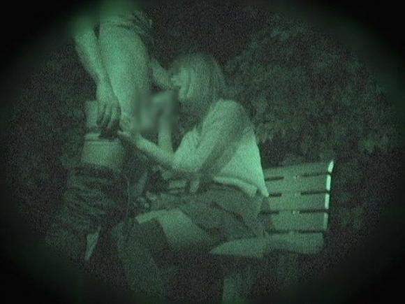 【青姦】野外でセックスしてるカップルを赤外線で盗撮wwwwwww【画像30枚】05_20180912173136e90.jpg