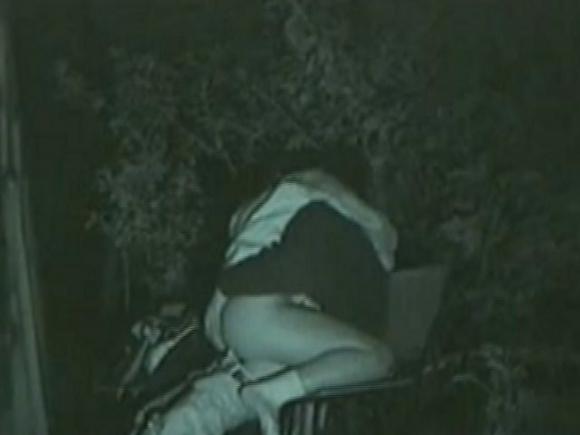 【青姦】野外でセックスしてるカップルを赤外線で盗撮wwwwwww【画像30枚】07_20180912173139a9d.jpg
