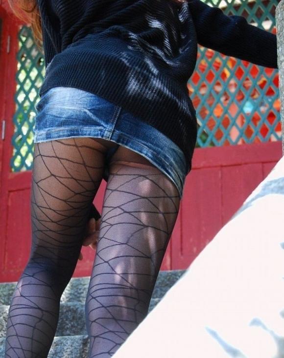 網タイツ履いた脚がくっそセクシーwwwwwww【画像30枚】20_20180624234757d62.jpg