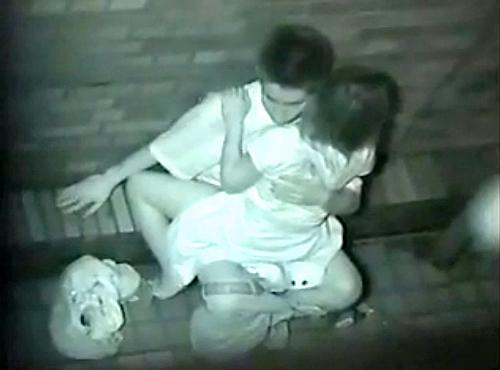 【青姦】野外でセックスしてるカップルを赤外線で盗撮wwwwwww【画像30枚】20_20180912173338440.jpg