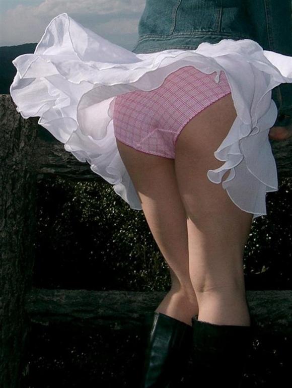 スカートだとパンチラしちゃうから背後に要注意wwwwwww【画像30枚】24_201712310406505f8.jpg