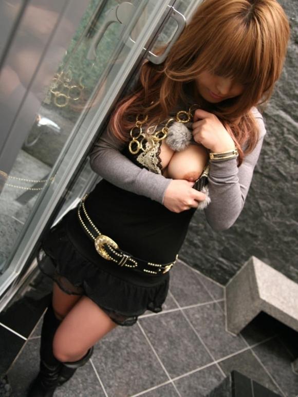 【おっぱい】乳首が見えちゃってる女の子がくっそエロいwwwwwww【画像30枚】24_20180810005759d5a.jpg