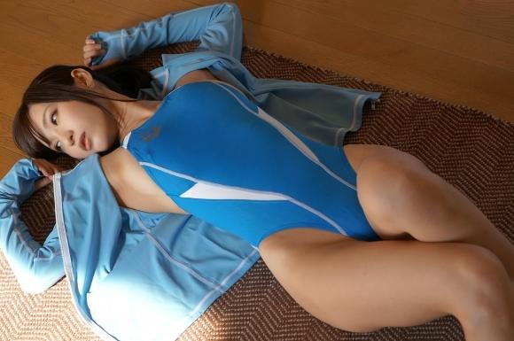 なぜかエロい作りになってるハイレグ水着を選ぶ女の子wwwwwww【画像30枚】29_20180209014441ba2.jpg