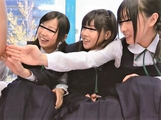 《素人ナンパ》 修学旅行生をガチナンパ!友達が見てるのにパコパコされちゃいます!