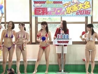 【水泳大会】挟んで挟んでドッピュッピュー 挟射リレー ガチで参加したいですw