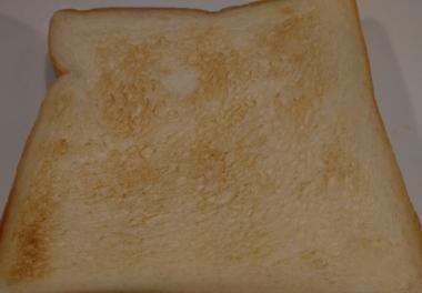 焼きあがったトースト