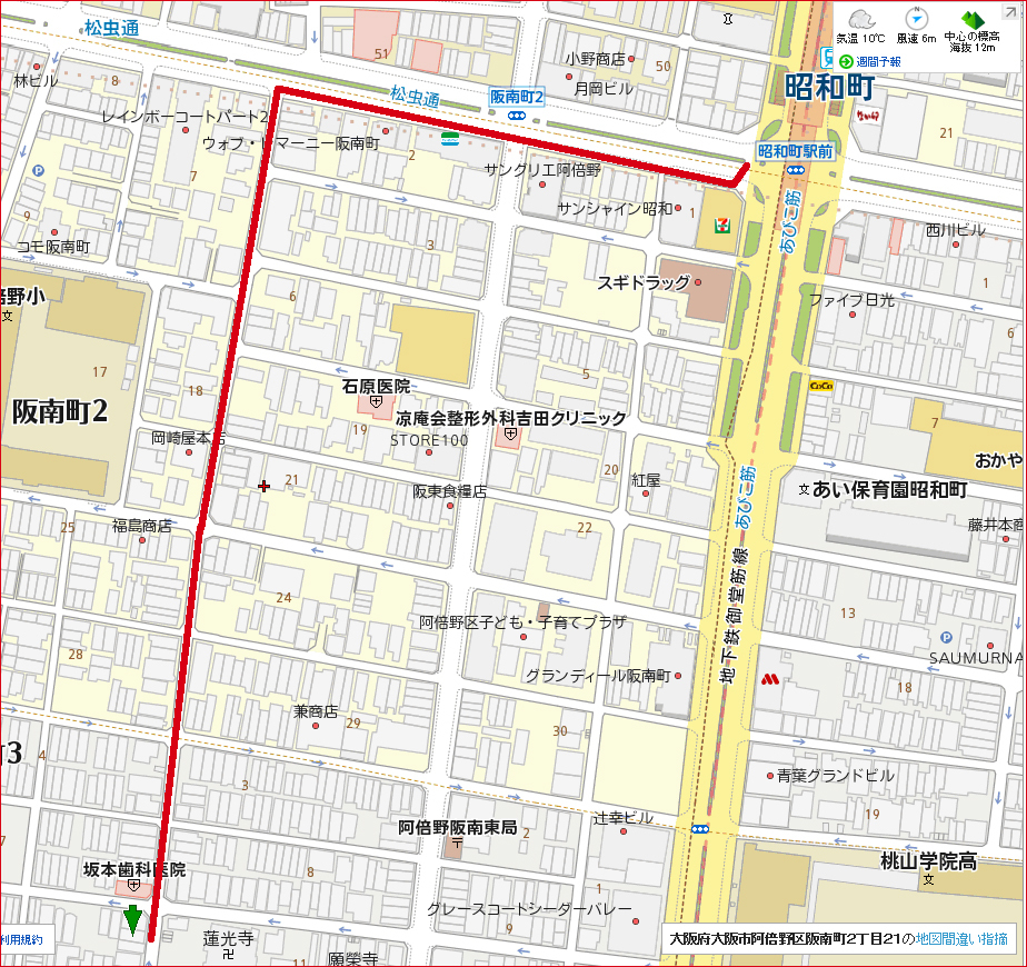 20171120 昭和町はらっぱmap