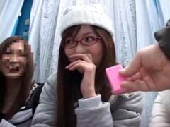 麻倉憂 【MM号】大学に特攻マジックミラー号!同期生達を気にしながらもイキまくってしまうめがね姿もかわいいビジン女の子