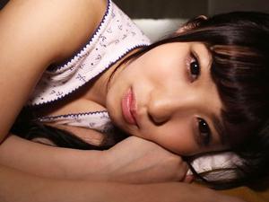 【栄川乃亜】カワイイ彼女に起こされてフェラされ尻コキから騎乗位SEXされちゃう主観映像