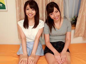 【水川ひなこ&石田さとみ】現役女子大生2人がシェアハウスで生活して誰とどんなSEXするかをモニタリング