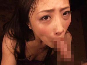 【神納花】チンポ2本からザーメンを搾り出し顔射させ飲精しまくりフェラチオし続ける舌長痴女!!