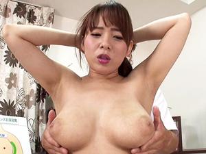 【三島奈津子】噂のスペンス乳腺を刺激され巨乳娘が全身性感帯化して電マ責めで悶える!
