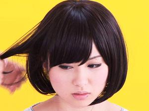 【成瀬心美】ショートも似合うAVアイドルの美乳パイズリと手コキフェラで大量ザーメン口内発射!