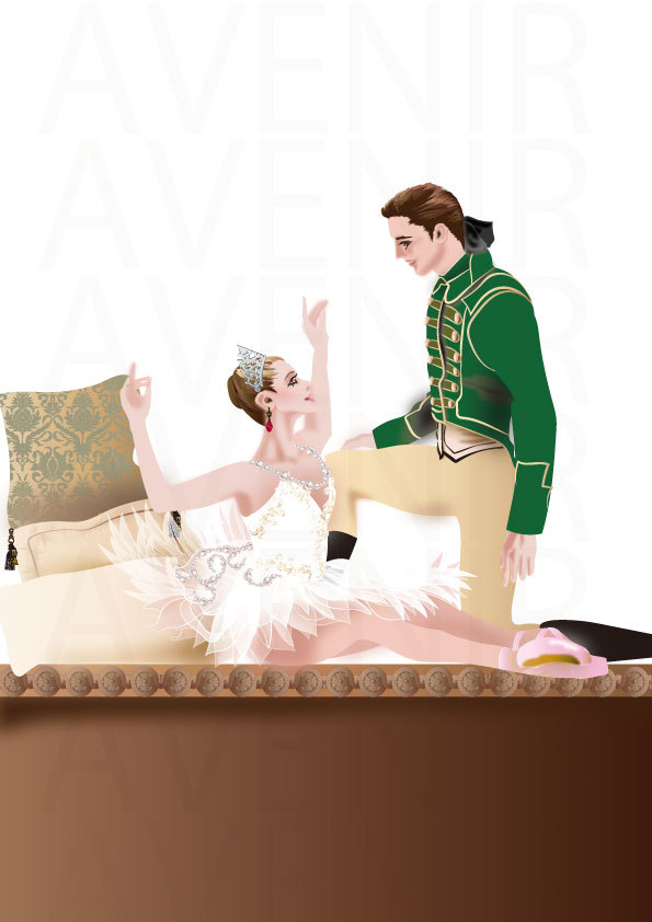 眠りから覚める姫