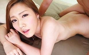 【舞島あかり】 綺麗なお姉さんが関西弁で淫語をささやきながらの主観セックス 【tube8】