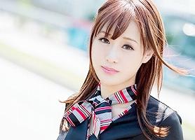 月に一度日本に来るという美脚ハーフ美女の現役スチュワーデスがAVデビュー! 生ハメ中出しセックス! 【tube8】