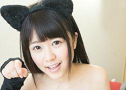【涼海みさ】 猫耳コスプレをした激カワ美女が自宅で3Pセックス! 【tube8】