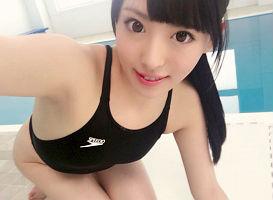 【黒木いくみ】 水泳インストラクターの美女が競泳水着着衣で生徒とセックス! 【tube8】