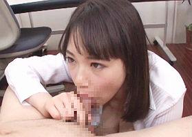 【星野ひびき】 むっちり巨乳の美人OLとのオフィスラブ、中出しセックス! 【tube8】