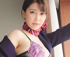 【羽田璃子】 美人スチュワーデスにエロチックなパンストを穿かせて濃密セックス!! 【tube8】