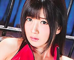 【大槻ひびき】 ボンテージ黒髪美女の喉奥を激ピストン! イラマチオ調〇3Pセックス!! 【tube8】