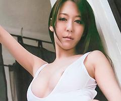 【朝桐光】 マンコにグイッと食い込むハイレグレオタード衣装で濃密セックスを魅せるレースクィーンの痴女 【tube8】