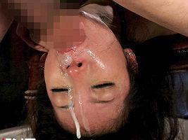 【千葉ねね】 美女を麻縄で縛り上げてクチマンコだけを使うイラマチオ、綺麗な顔が精液と唾液まみれのドロドロ状態 【tube8】